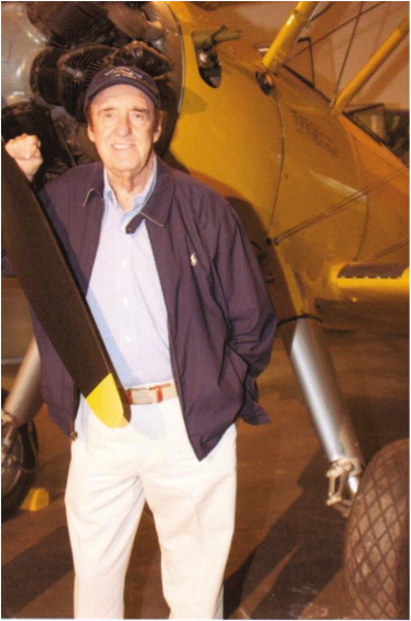 Jim Nabors at the Pacific Aviation Museum Honolulu, Hawaii