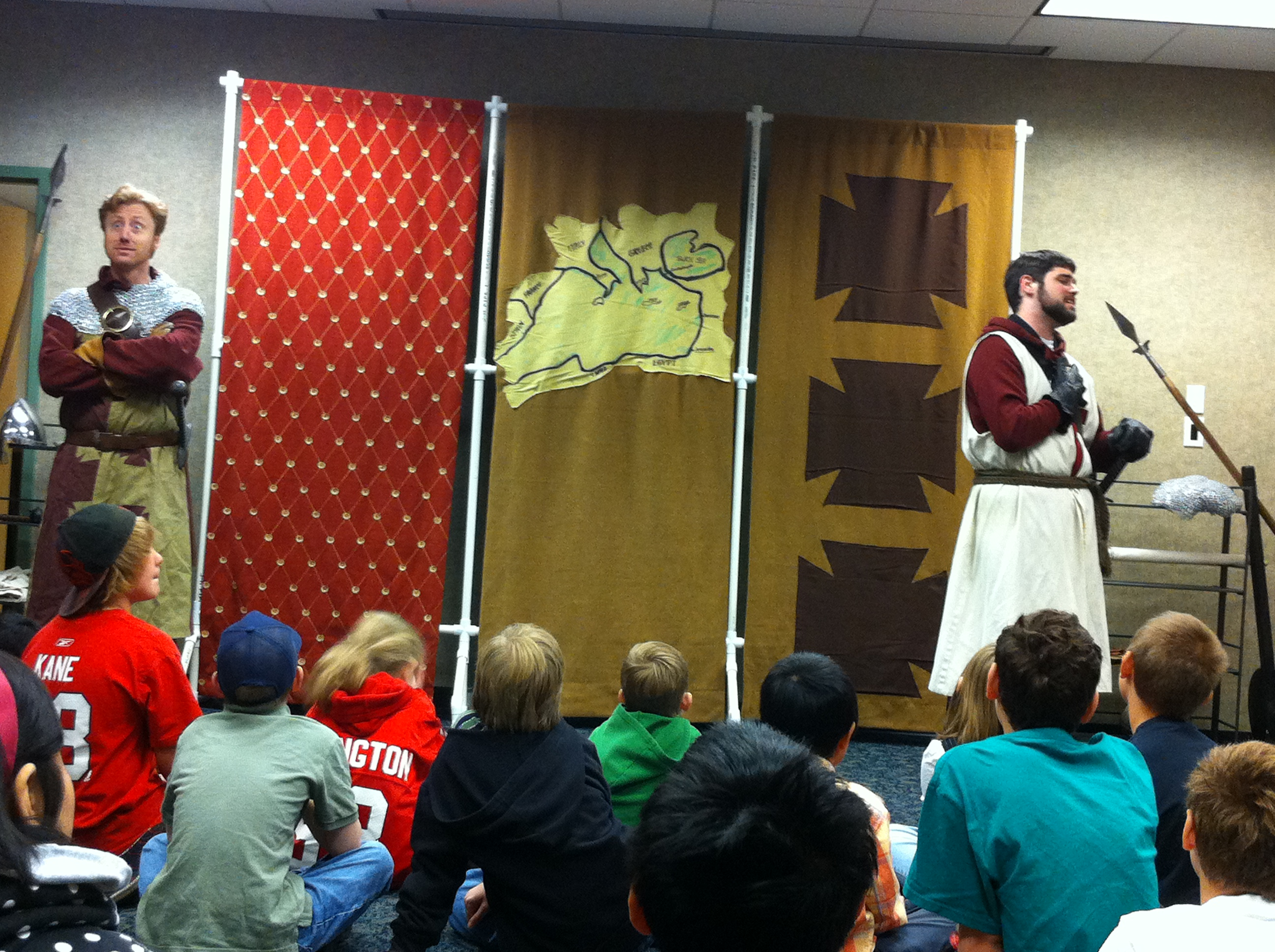 Knights of the Realm at the Algonquin Public Library