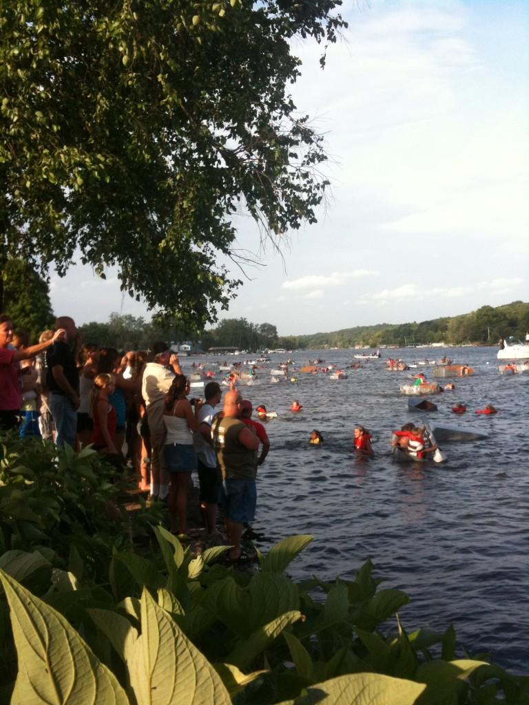 Algonquin Founders Days Cardboard Boat Regatta