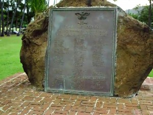 World War 1 Honor Roll In Waikiki