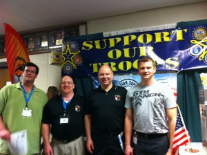 6th Branch, Mission Hope Chicago and Cubejumpers IT raise funds towards sending care-packages overseas to US Troops.