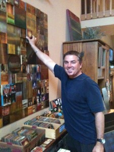 Actor and Director Christopher Knight - yes Peter Brady at Magnetic Blok House
