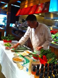 Big Bowl Executive Chef Marc Bernard highlights local, organic and eco friendly produce