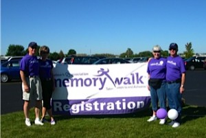 Gary Wadsworth at the 2011 Walk to End Alzheimer's - McHenry County