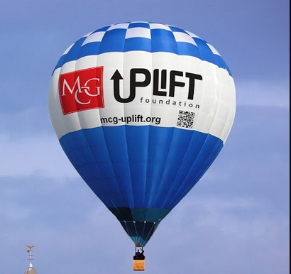 MCG Uplift Foundation ballon