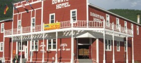 Downtown Hotel in Dawson City